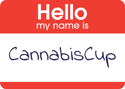 Hello my name is CannabisCup